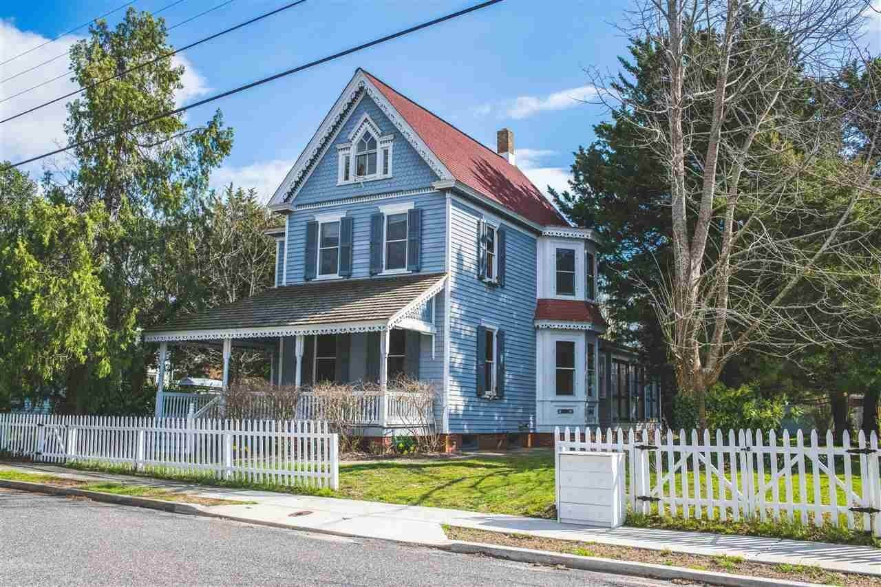 Single Family Homes for Sale at 122 Eldredge Avenue West Cape May, New Jersey 08204 United States