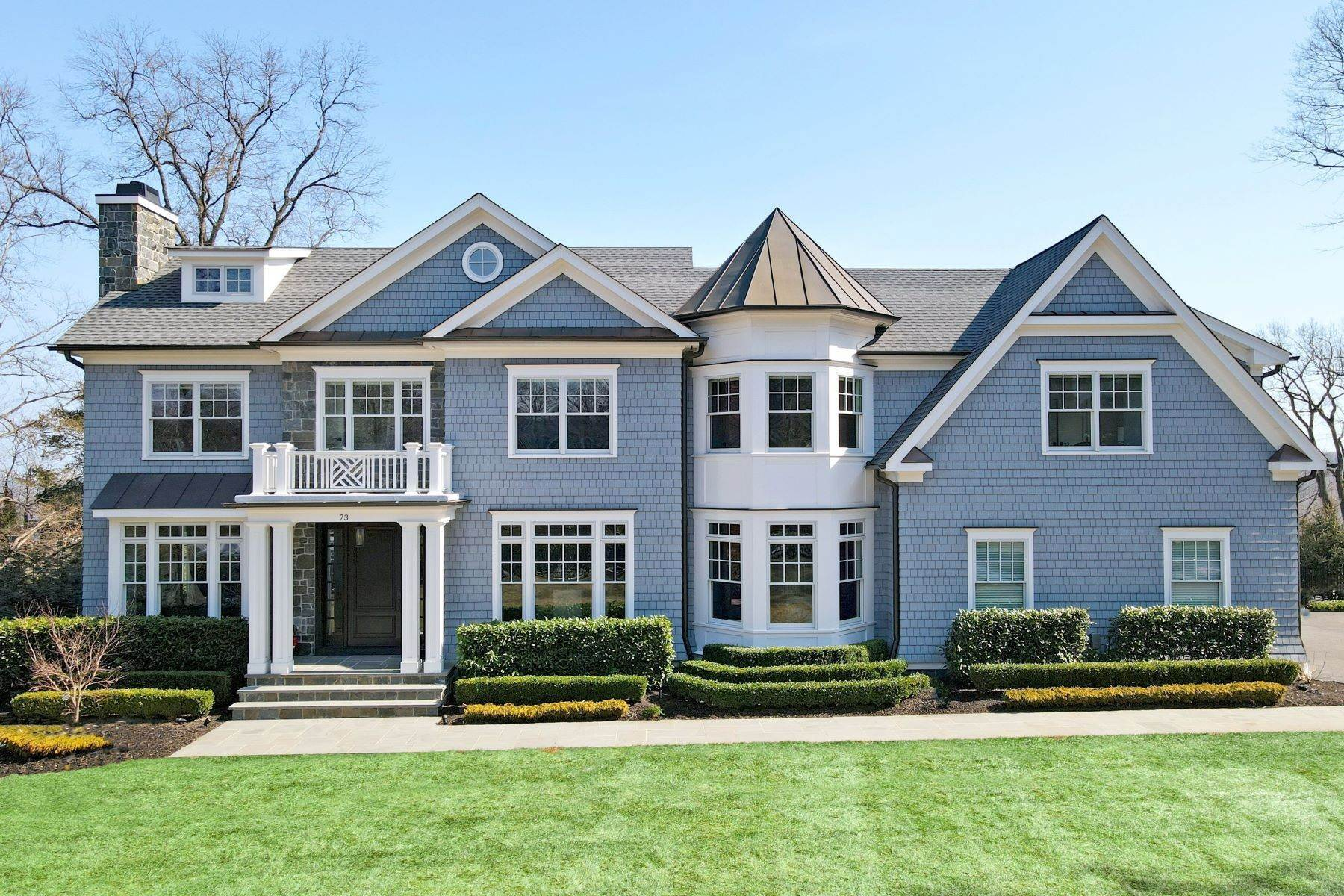 Single Family Homes for Sale at New Construction Masterpiece 73 Edgewood Road Summit, New Jersey 07901 United States