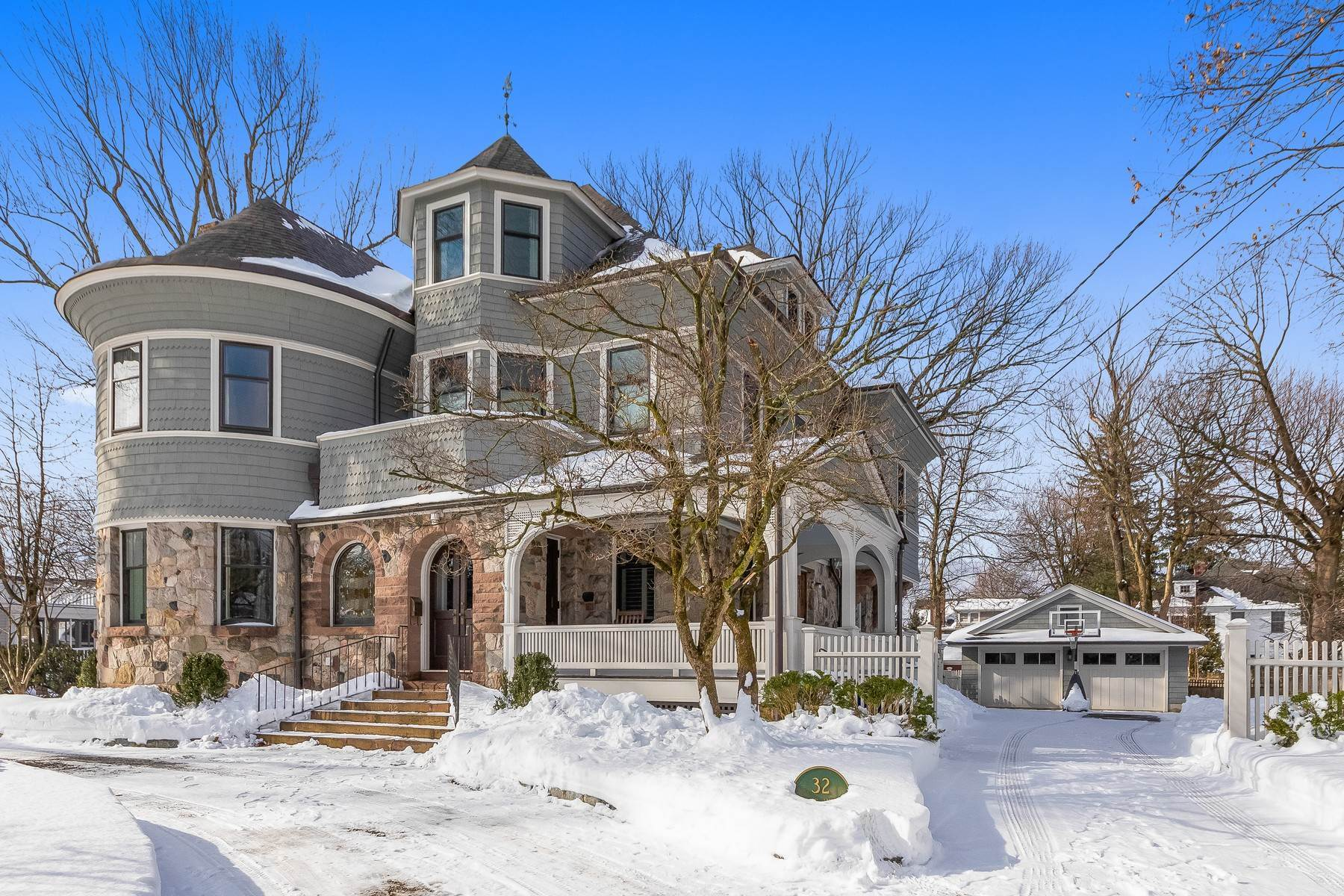 Single Family Homes for Sale at Stunning Victorian In The Heart Of Summit 32 Hobart Avenue Summit, New Jersey 07901 United States