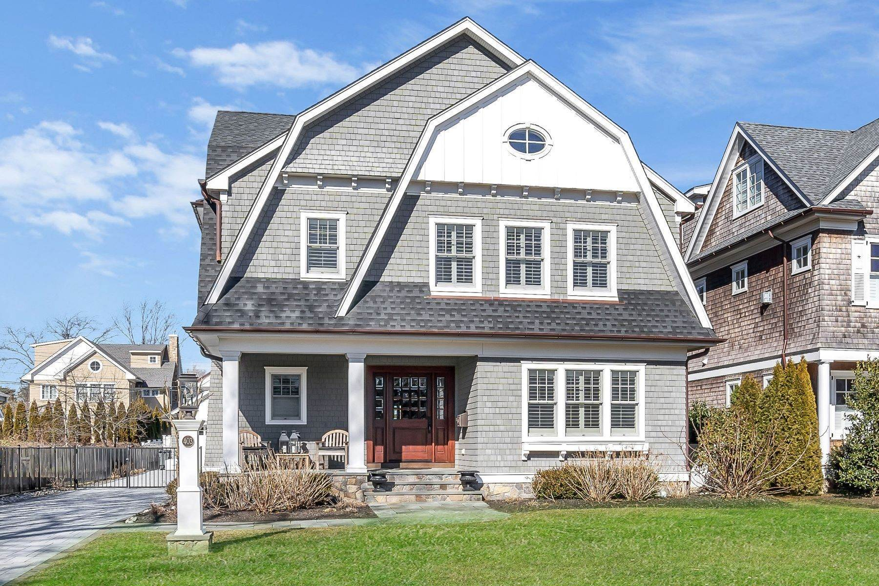 Single Family Homes for Sale at Custom Designed 403 Trenton Boulevard Sea Girt, New Jersey 08750 United States