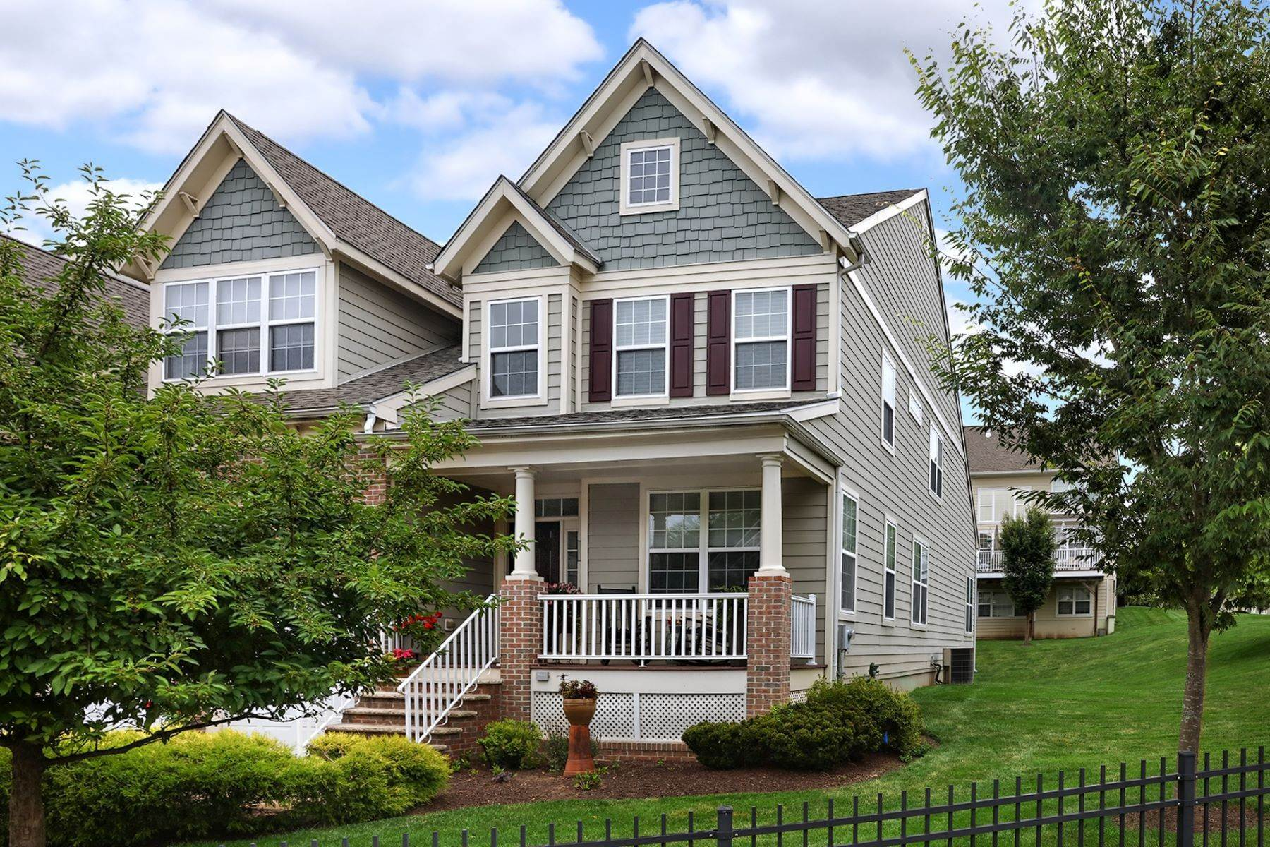 townhouses for Sale at Immaculate End Unit Livingston Model - Lambert's Hill 616 Heath Court Lambertville, New Jersey 08530 United States