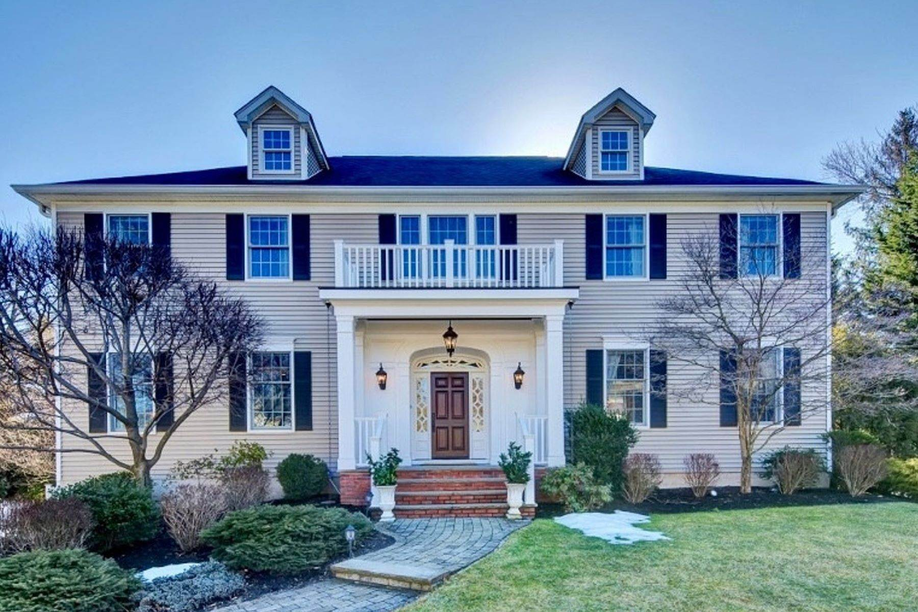 Single Family Homes for Sale at Gracious Colonial Completely Updated 48 Barnsdale Road Madison, New Jersey 07940 United States