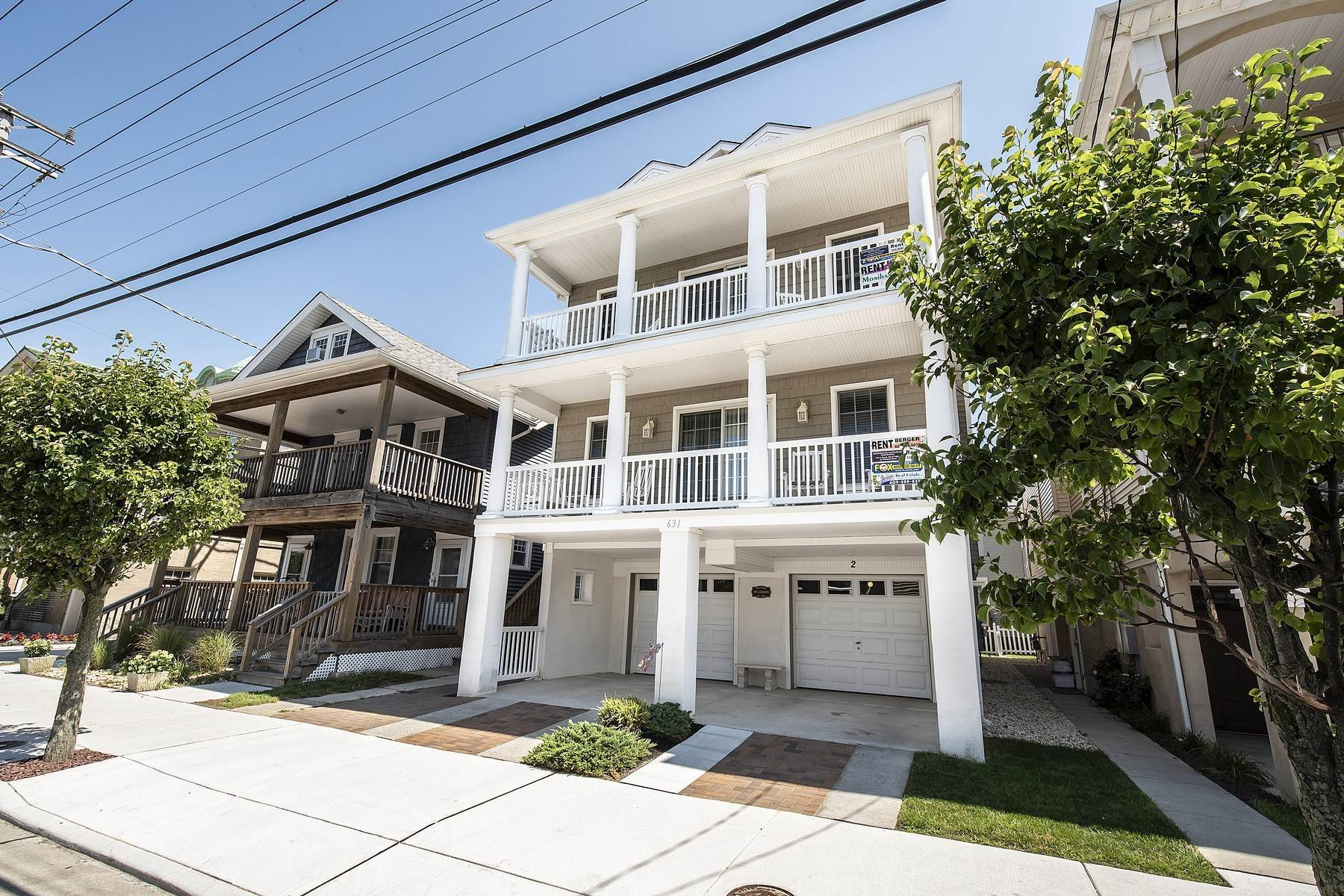 8. Duplex Homes for Sale at Centrally Located Duplex 631 E 10th Street Ocean City, New Jersey 08226 United States