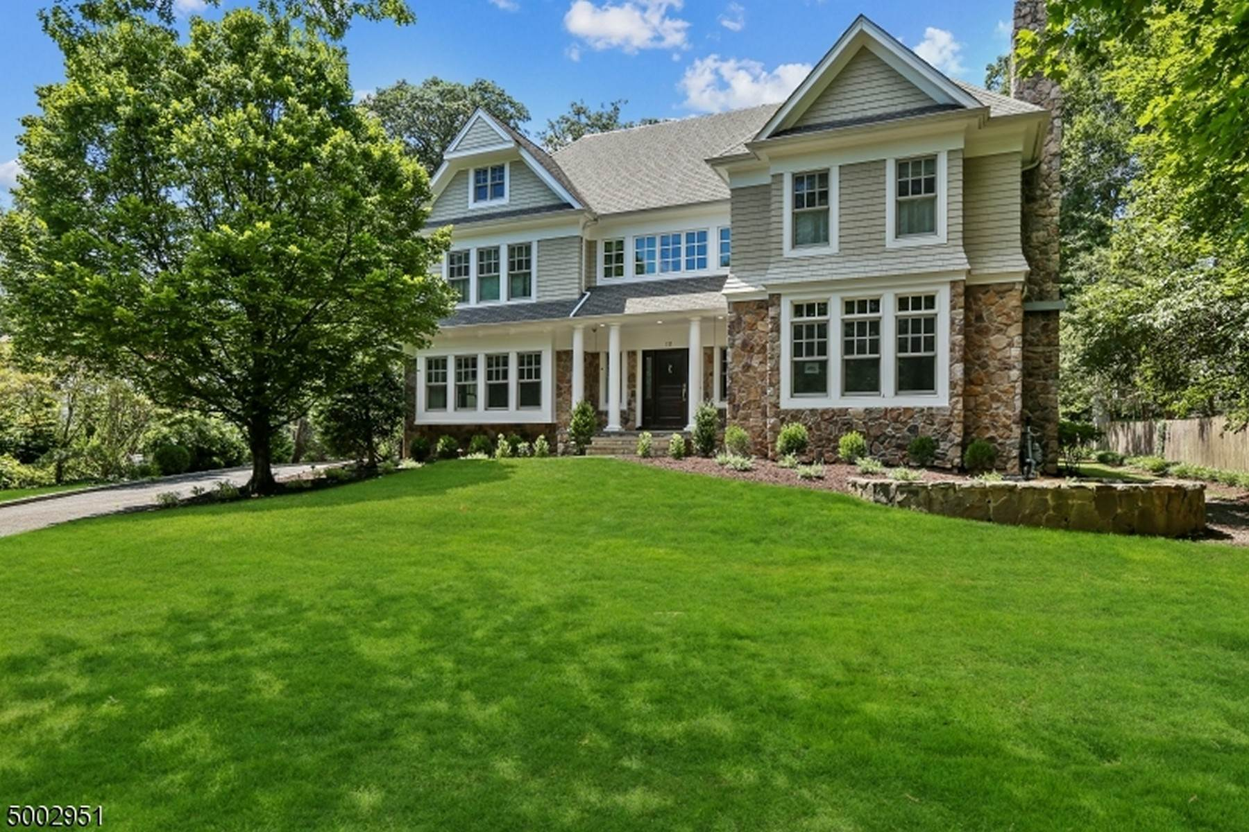 Single Family Homes for Sale at Northside Colonial Close To Downtown 111 Whittredge Road Summit, New Jersey 07901 United States