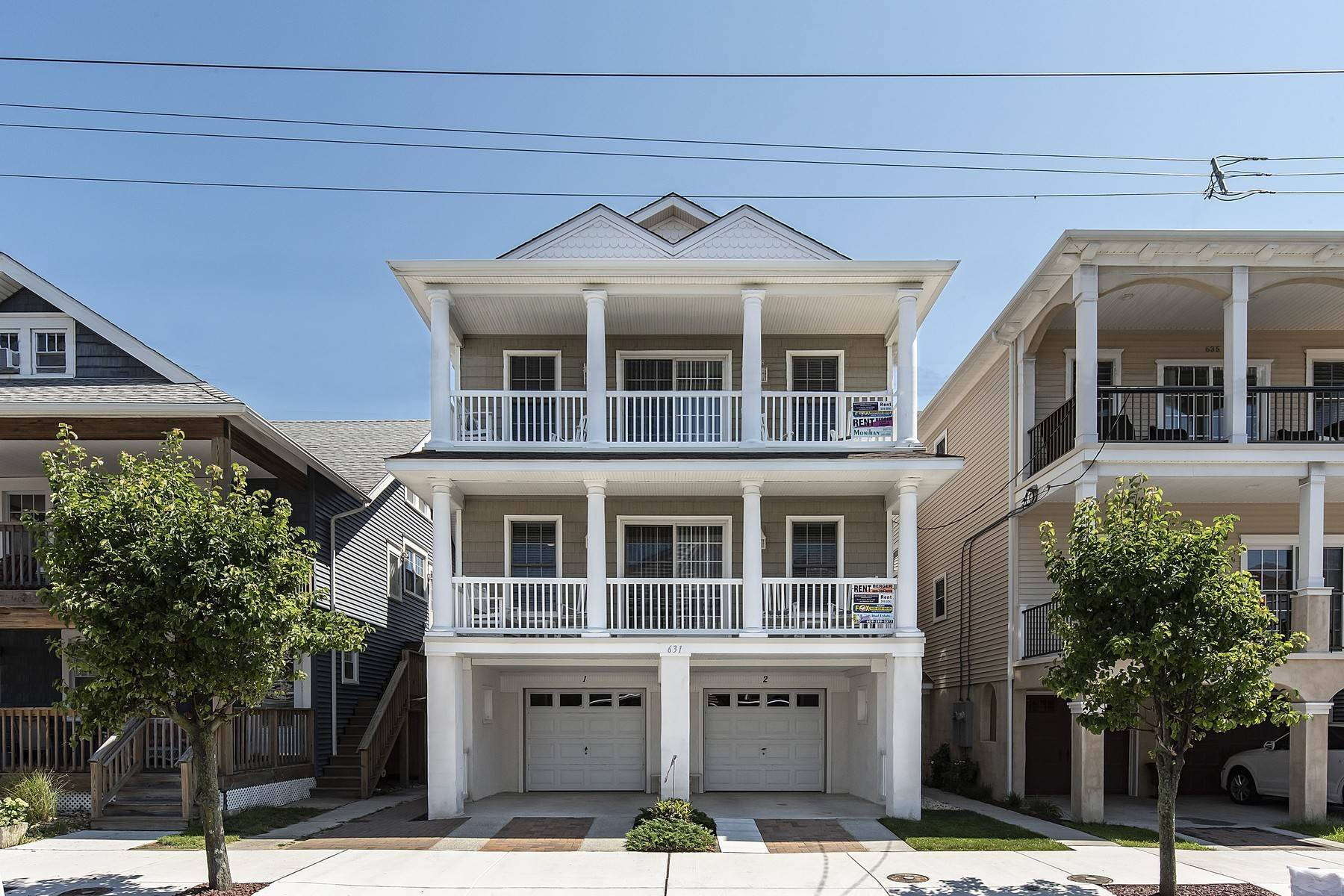 7. Duplex Homes for Sale at Centrally Located Duplex 631 E 10th Street Ocean City, New Jersey 08226 United States
