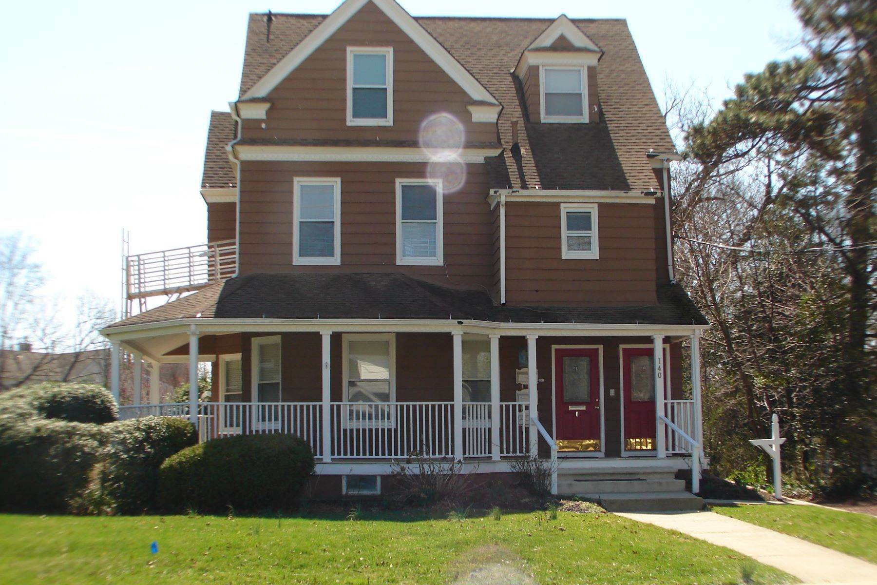 Single Family Homes for Sale at 140 Franklin Avenue Long Branch, New Jersey 07740 United States