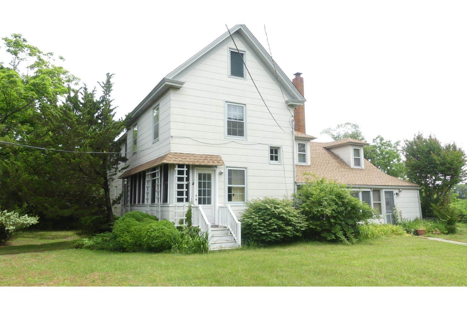 Single Family Homes for Sale at Land with Historic Home 2388 & 2382 Route 9 Ocean View, New Jersey 08230 United States