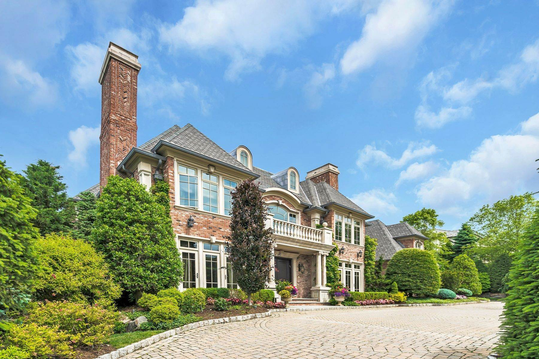 Single Family Homes for Sale at Extraordinary Manor Estate 129 Truman Dr Cresskill, New Jersey 07626 United States