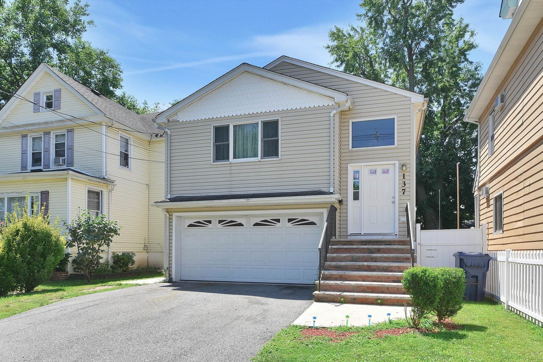 Multi-Family Homes for Sale at Roomy Two Family Home 137 Berry Street Hackensack, New Jersey 07601 United States