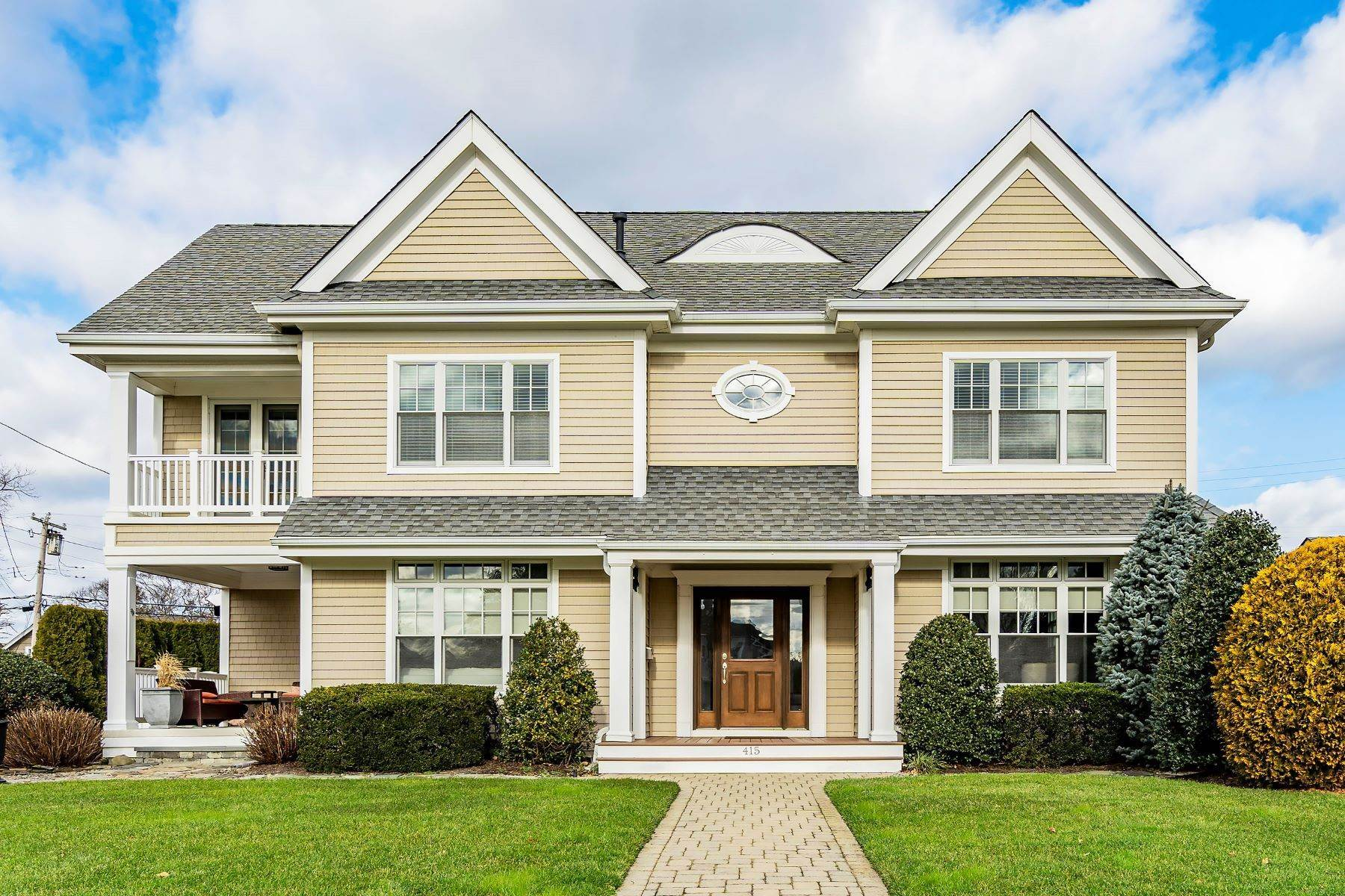 Single Family Homes for Sale at Peaceful, Private and Perfect 415 Chicago Boulevard Sea Girt, New Jersey 08750 United States
