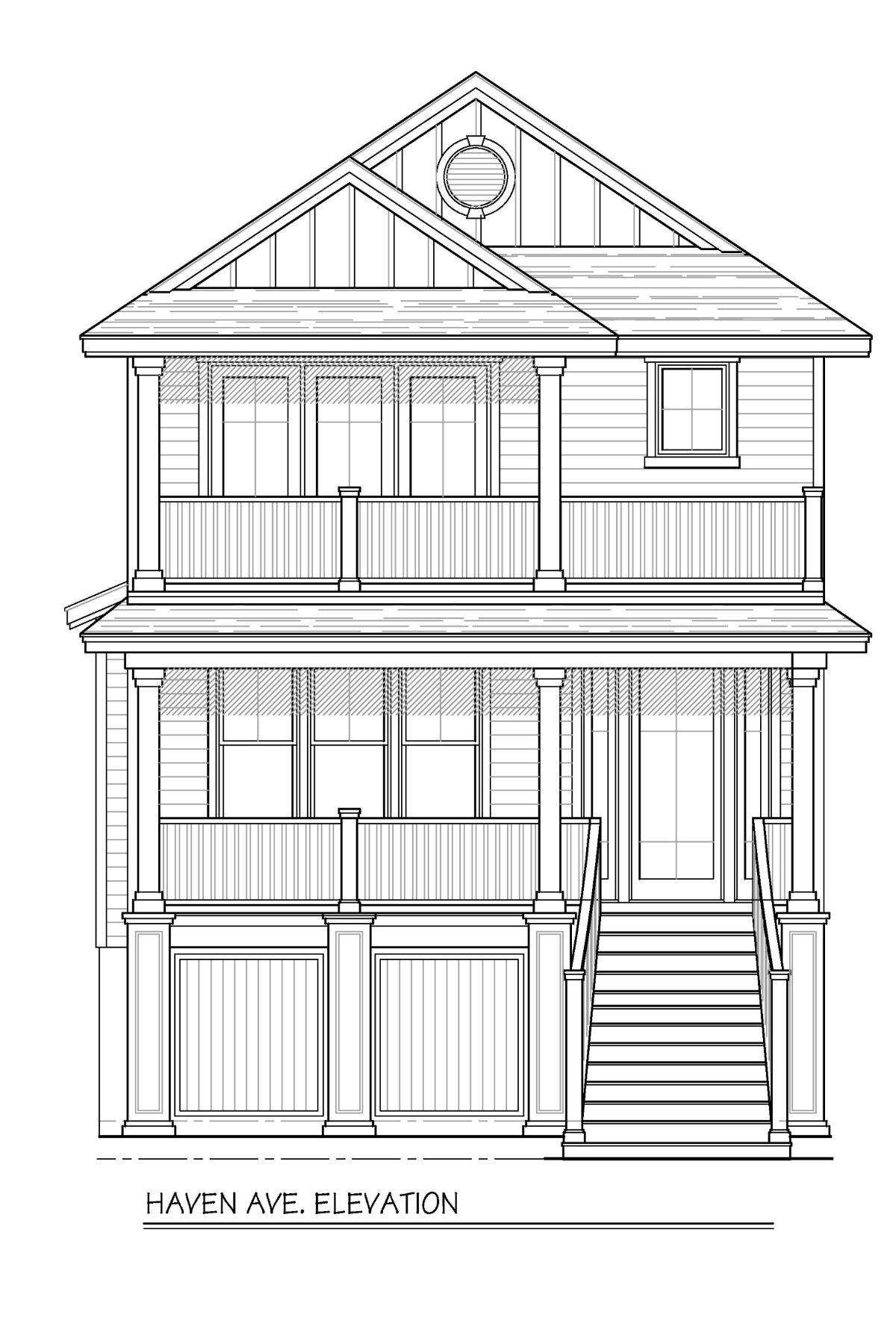 Single Family Homes en New Construction 132 Haven Avenue Ocean City, Nueva Jersey 08226 Estados Unidos