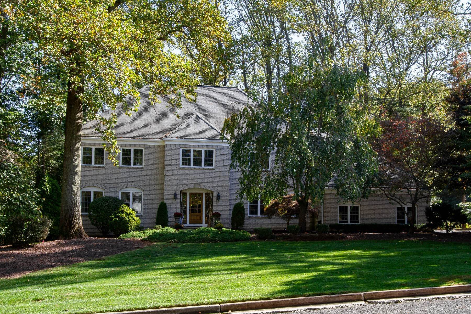 Single Family Homes for Sale at Spectacular Custom Home 11 Fieldpoint Dr Holmdel, New Jersey 07733 United States