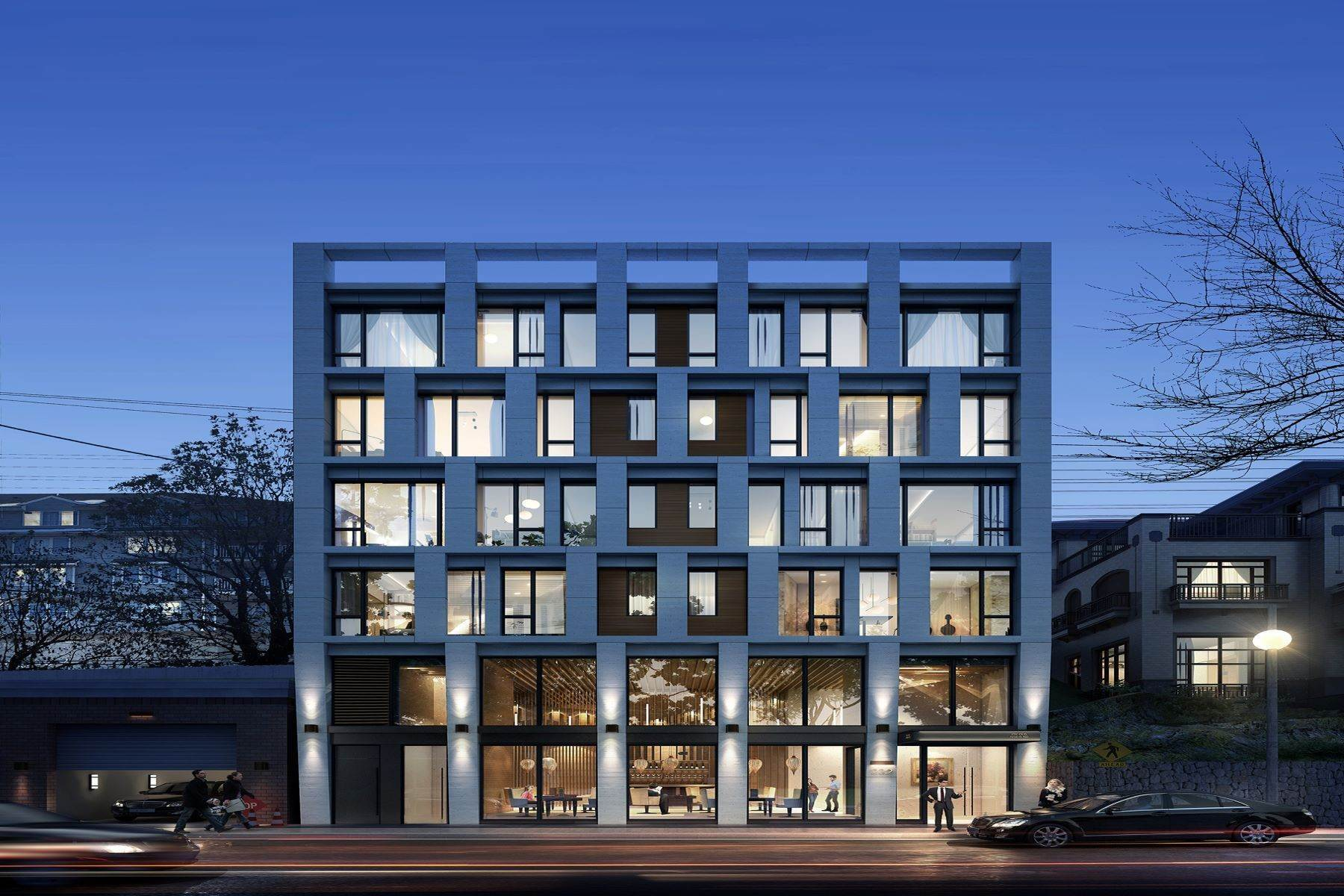 Condominiums for Sale at NEW CONSTRUCTION BUILDING! HOW ABOUT TO OWN A BOUTIQUE BUILDING. 232 Old River Road Edgewater, New Jersey 07020 United States