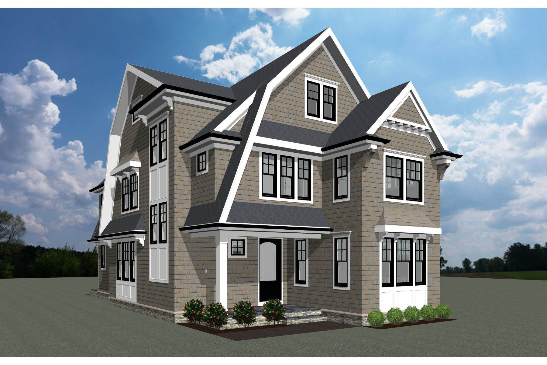 Single Family Homes for Sale at New Construction in Sea Girt 316 Trenton Boulevard Sea Girt, New Jersey 08750 United States