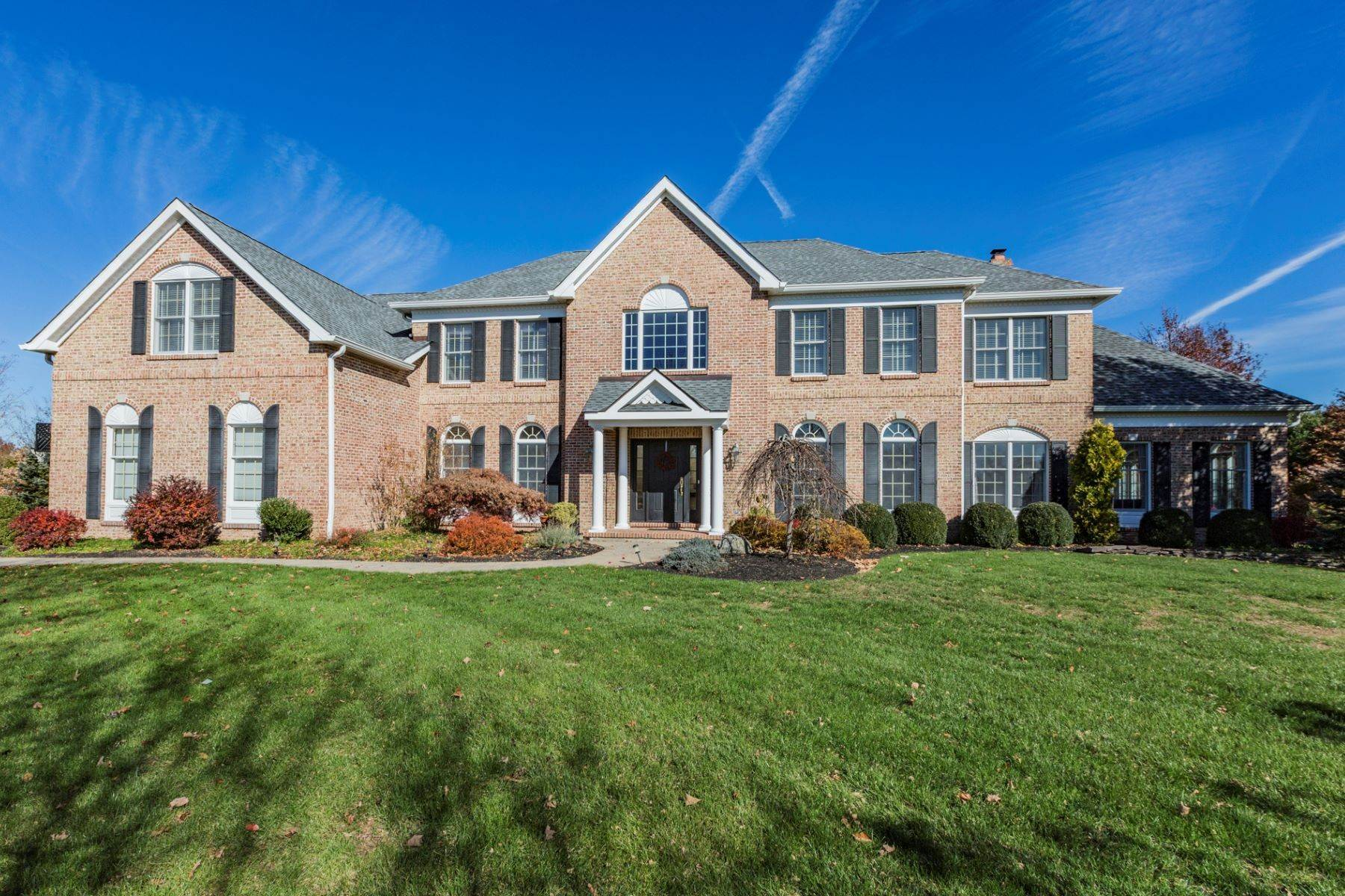 Single Family Homes for Sale at Sun-filled Colonial in Bedens Brook Estates 45 Gaitway Drive Skillman, New Jersey 08558 United States