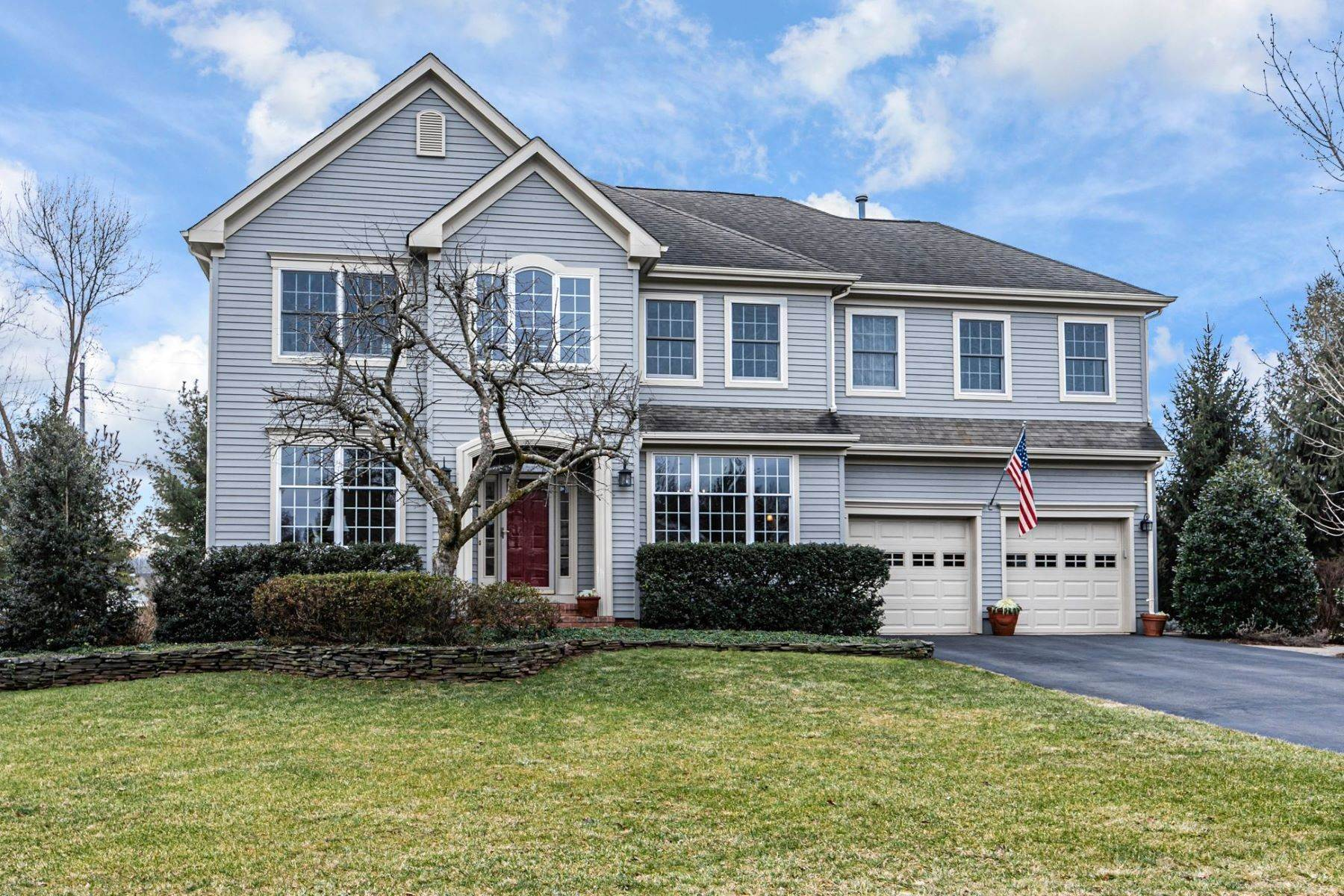 Single Family Homes for Sale at No Shortage Of Beautiful Spaces In This Updated Cherry Valley Home 9 Innisbrook Road Skillman, New Jersey 08558 United States