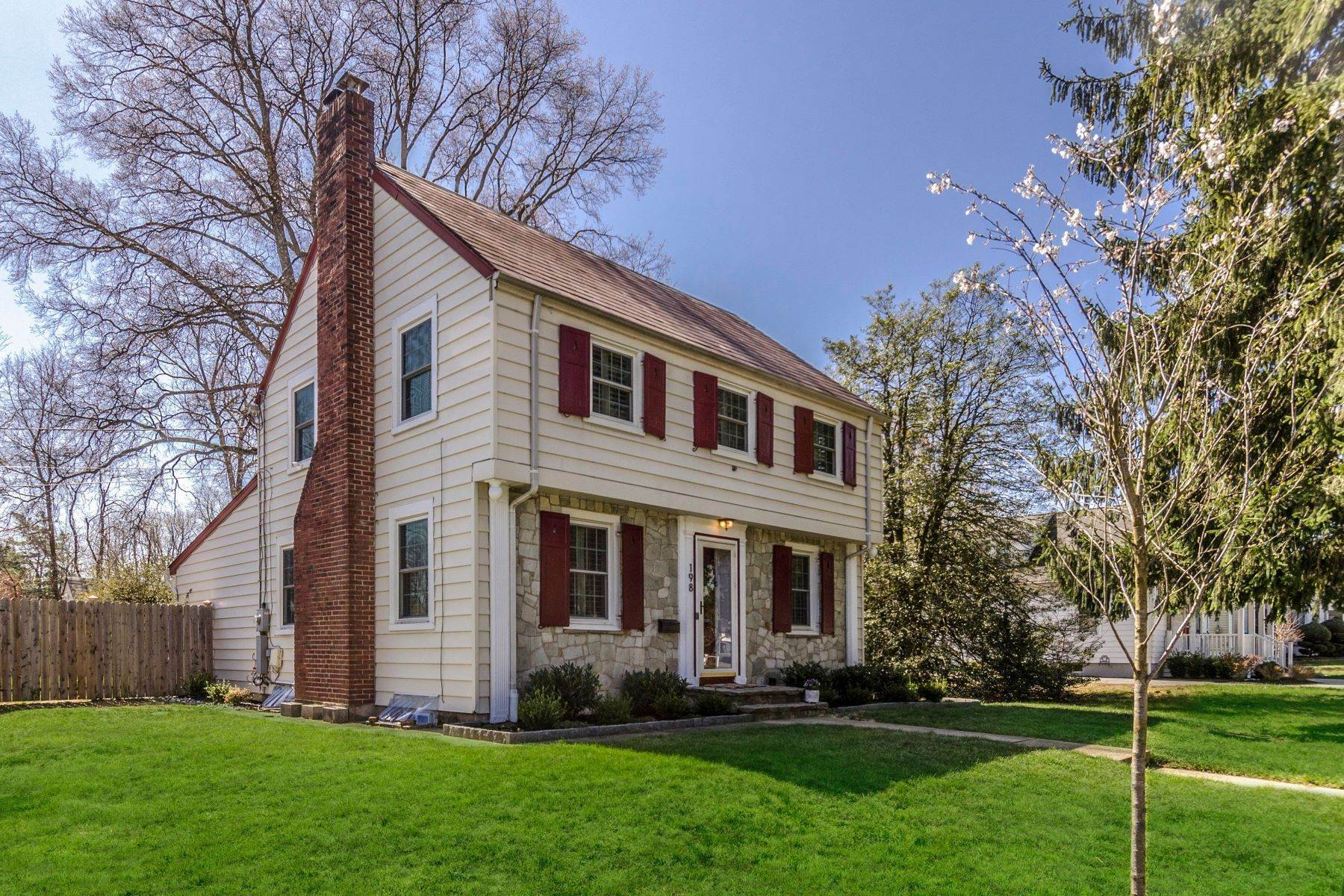 Single Family Homes for Sale at Charm of the Past Meets Modern Day Amenities 198 Park Avenue Hamilton, New Jersey 08690 United States